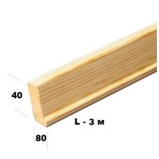 Профиль для модульной планки (40х18) за 1 м/п
