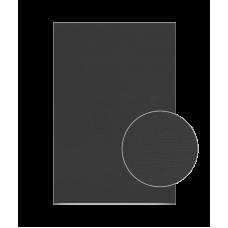 Холст на картоне 18х20 см, Черный, акрил, ROSA Studio