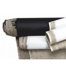 Холст в рулоне мелкое зерно 1,5х3 м акрил, черный грунт, лен ROSA